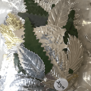 various-cake-decorations-leafs
