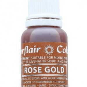 Sugarflair - ROSE GOLD Sugartint Droplet Icing Liquid Colouring 14ml