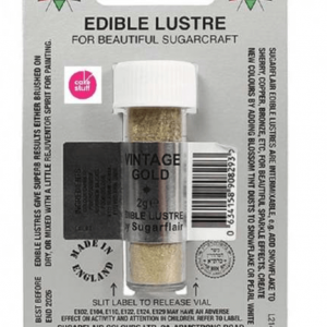 Sugarflair - Vintage Gold Edible Lustre Dusting Colour 2g