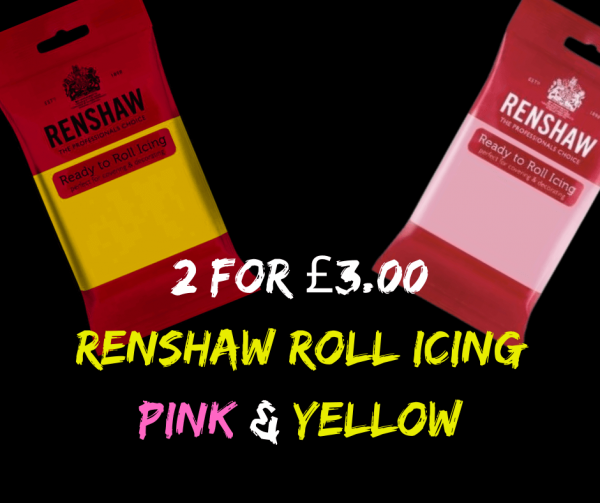 2 for £3.00 Renshaw Roll Icing (1)